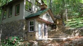 Eco Cabin steps