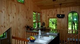 Eco Cabin Kitchen