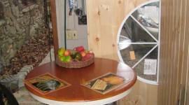 Pottery Kiln & 3rd Kitchen Table