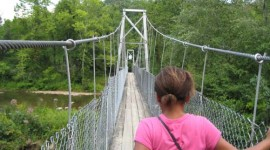 Walk the Suspension Bridge
