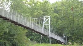 Nearby Suspension Bridge